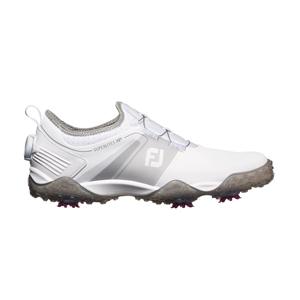 58067W25 フットジョイ メンズ・ゴルフシューズ(ホワイト×グレー・25.0cm) FootJoy スーパーライトXP #58067