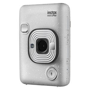 MINIHM1STONEWHITE 富士フイルム ハイブリッドインスタントカメラ チェキ「instax mini LiPlay」(ストーンホワイト) FUJIFILM