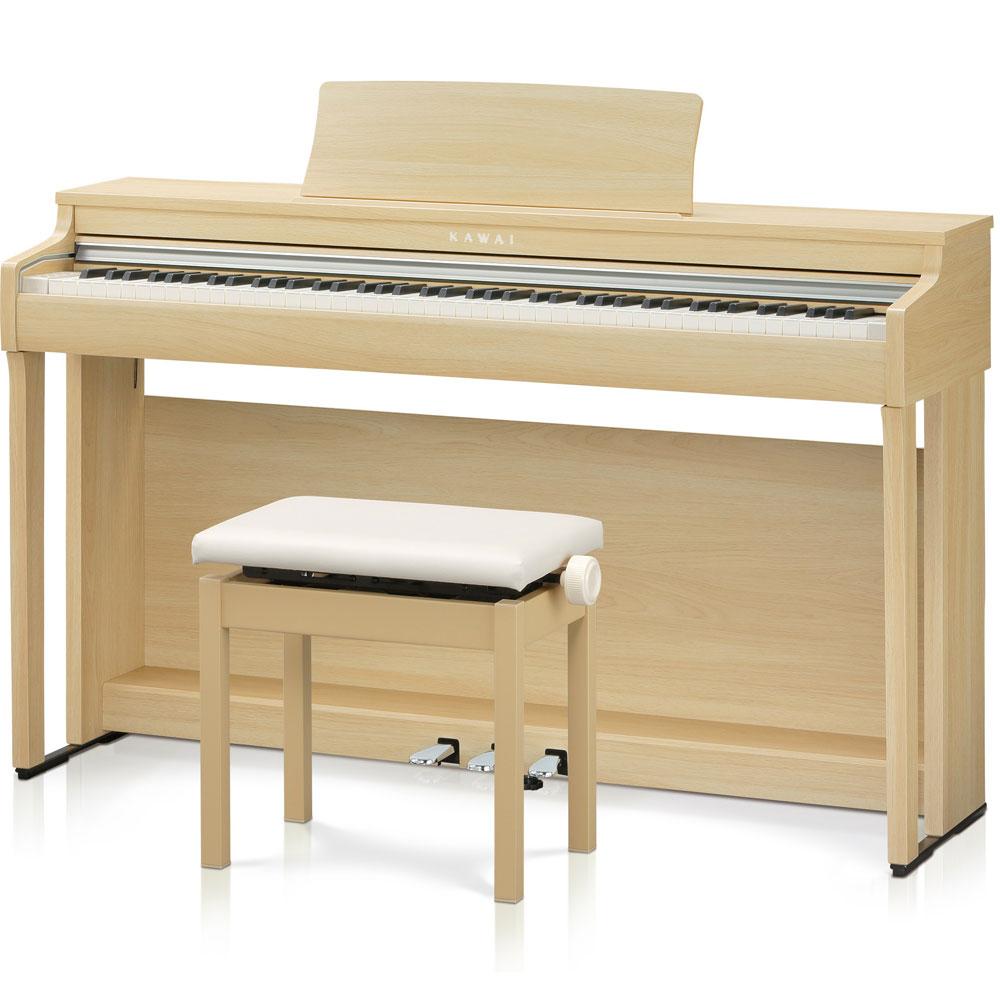 CN29LO カワイ 電子ピアノ(プレミアムライトオーク調仕上げ)【高低自在椅子&ヘッドホン付き】 KAWAI