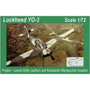 1/72 ロッキード YO-3 「クワイアト・スター」 偵察機【CROA72007】 クロコ