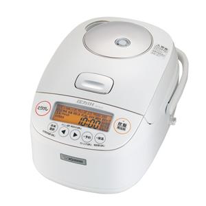 NP-BJ10-WA 象印 圧力IH炊飯ジャー(5.5合炊き) ホワイト ZOJIRUSHI 極め炊き [NPBJ10WA]