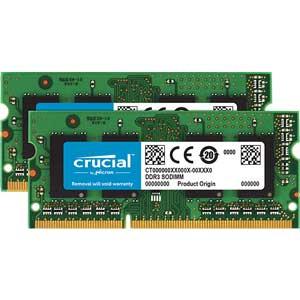 CT2KIT204864BF160B Crucial PC3L-12800(DDR3L-1600)204pin S.O.DIMM 32GB(16GB×2枚)