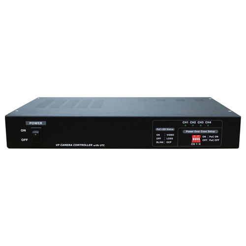MT-POC4RX マザーツール UTC対応ワンケーブルAHDカメラ用電源ユニット(電源重畳式) MotherTool [MTPOC4RX]