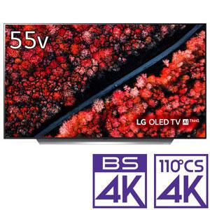 (標準設置料込_Aエリアのみ)OLED55C9PJA LGエレクトロニクス 55V型 有機ELパネル 地上・BS・110度CSデジタル4Kチューナー内蔵テレビ (別売USB HDD録画対応)OLED TV AI ThinQ