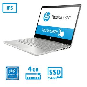 【200円OFF?当店限定クーポン 3/11 1:59迄】5DB15PA-AAAG HP(エイチピー) HP Pavilion x360 14-cd0122TU シリーズ - 14インチ 2in1 パソコン [Pentium / メモリ 4GB / SSD 256GB / タッチパネル]