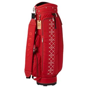 OB071903 オノフ レディース キャディバッグ(レッド・8.5型・47インチクラブ対応) ONOFF Caddie Bag