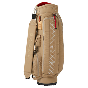 OB071915 オノフ レディース キャディバッグ(ベージュ・8.5型・47インチクラブ対応) ONOFF Caddie Bag