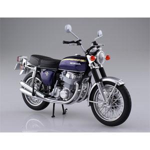 1/12 完成品バイク Honda CB750FOUR(K2) パープル アオシマ(スカイネット)