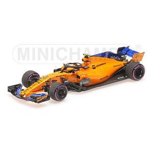 1/43 マクラーレン ルノー MCL33 ストフェル・バンドール アブダビGP 2018 F1ラストレース 限定 218pcs【537186402】 ミニチャンプス
