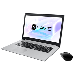 PC-NS850NAS NEC 17.3型ノートパソコン LAVIE Note Standard NS850/NAシリーズ(カームシルバー) [Core i7 / メモリ 8GB / SSD 256GB + HDD 1TB / Microsoft Office 2019]LAVIE 2019年夏モデル