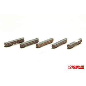 [鉄道模型]六半 (Z) T036-1 1号編成 お召し列車 後期仕様 5両セット