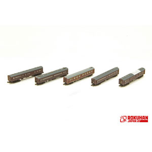 [鉄道模型]六半 (Z) T036-2 1号編成 お召し列車 初期仕様 5両セット