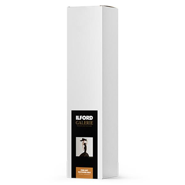 432609 イルフォード インクジェット用紙 ファインアートテクスチャードシルク 厚手 テクスチャードマット面質 914mm×15mロール 3インチ ILFORD GALERIE FineArt Textured Silk ギャラリー ファインアート マット
