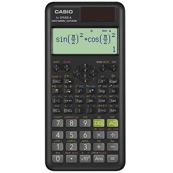 FX-375ESA-N カシオ 関数電卓 10桁 微分積分・統計計算・数学自然表示 関数機能394