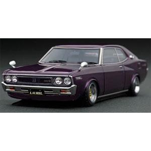 1/43 Nissan Laurel 2000SGX (C130) Purple【IG1908】 ignitionモデル