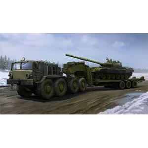 1/35 ソビエト軍 MAZ-537G トレーラー後期型/ChMZAP-9990セミトレーラー【01065】 トランペッター