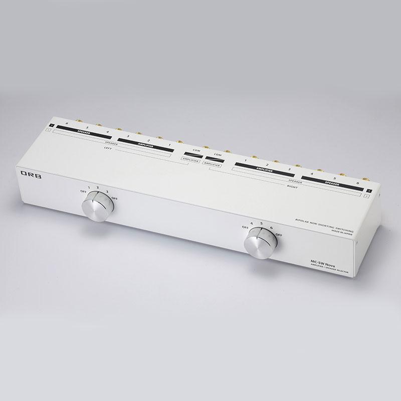 MC-SW NOVA 日本メーカー新品 オーブ パワーアンプ スピーカーセレクター 3入力 タイプ ORB 3出力 1入力 6出力 レビューを書けば送料当店負担