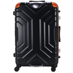 B5225T-58 MBK/OR シフレ 【メーカー直送のみ】スーツケース ハードフレーム 52L(マットブラック/オレンジ) Grip Master(グリップマスター)