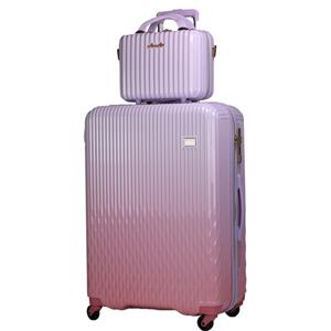 LUN2116-67 WHPK/PK シフレ 【メーカー直送のみ】スーツケース 90L(ホワイトピンク/ピンク) LUNALUX(ルナルクス)