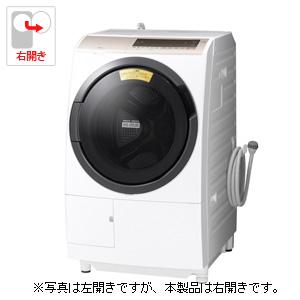 (標準設置料込)BD-SV110ER-W 日立 11.0kg ドラム式洗濯乾燥機【右開き】ホワイト HITACHI [BDSV110ERW]