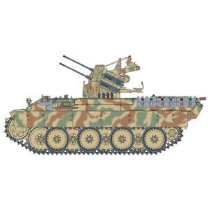 1/35 WW.II ドイツ軍 パンターD型 対空戦車 第653重戦車大隊【DR6899】 ドラゴンモデル
