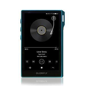Portable Audio Player U6 カラーフライ デジタルオーディオプレイヤー 64GBメモリ内蔵+外部メモリ対応 COLORFLY