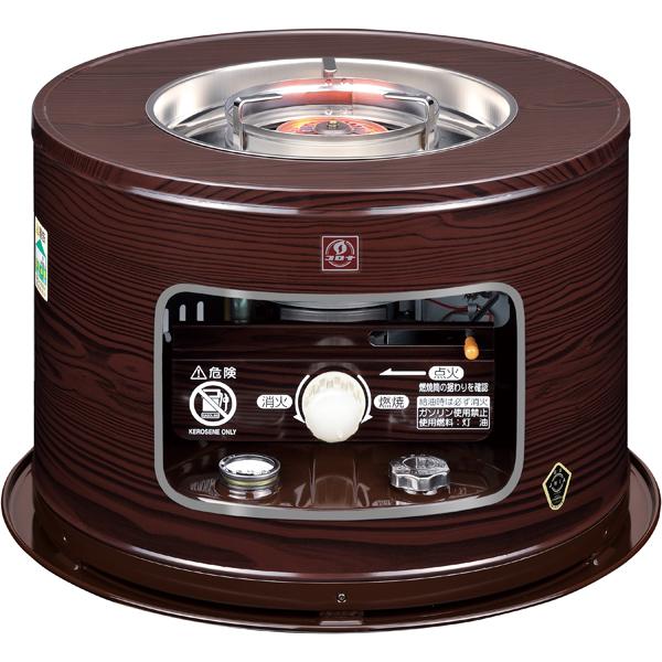 KT-1619-M コロナ 石油こんろ(煮炊き用) 【暖房器具】CORONA 木目 [KT1619M]