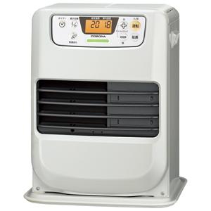 FH-M2519Y-W コロナ 石油ファンヒーター(木造7畳/コンクリート9畳まで) 【暖房器具】CORONA シェルホワイト