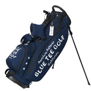 CB-003-NV ブルーティーゴルフ ストレッチスタンドキャディーバッグ(ネイビー・9型・46インチ対応) BLUE TEE GOLF BTG-CB-003