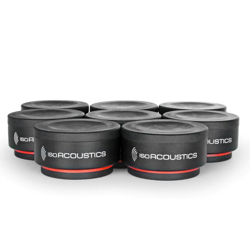 ISO-PUCKMINI アイソアコースティクス インシュレーター【8個1組】 ISO Acoustics