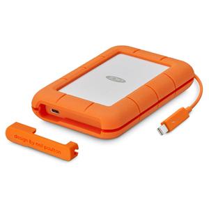 STFS500400 LaCie USB3.0対応 外付けポータブルSSD 500GB Rugged Thunderbolt USB-C (SSD)