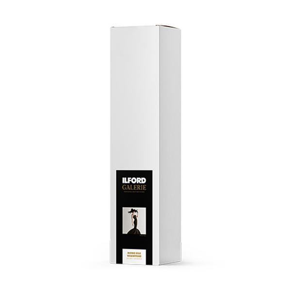 422184 イルフォード インクジェット用紙 モノシルクウォームトーン 厚手 半光沢 432mm×12mロール 3インチ ILFORD GALERIE Mono Silk Warmtone ギャラリー プロフォトペーパー