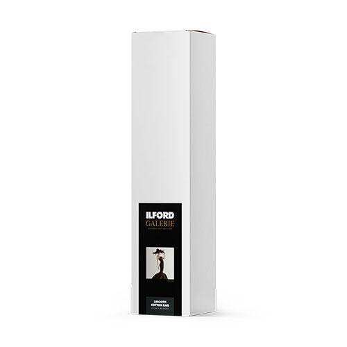 432634 イルフォード インクジェット用紙 スムースコットンラグ 厚手 スムースマット面質 914mm×15mロール 3インチ ILFORD GALERIE Smooth Cotton Rag ギャラリー ファインアート コットン