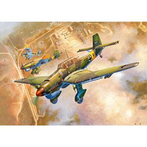 1/24 ユンカース Ju-87B-2 シュトゥーカ【02421】 トランペッター