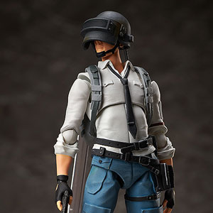 figma The Lone Survivor(PLAYERUNKNOWN'S BATTLEGROUNDS(PUBG)) フリーイング