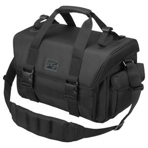 SP-R03SBLBK ハクバ カメラ用ショルダーバッグ プラスシェル リッジ04 L (ブラック) HAKUBA