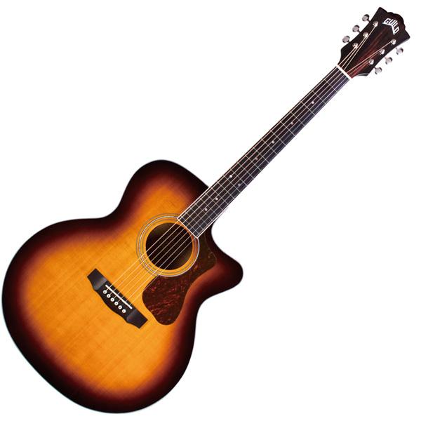 【250円OFF■当店限定クーポン 5/1 23:59迄】F-250CE-DELUXE ギルド エレクトリックアコースティックギター GUILD