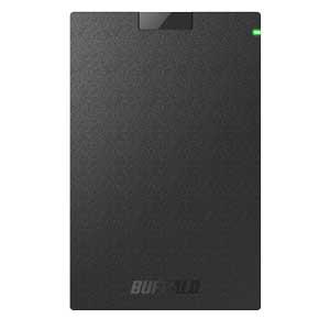 SSD-PG1.9U3-B/NL バッファロー USB3.1(Gen1)対応 外付けポータブルSSD 1.9TB【PlayStation4/4 PRO 動作確認済】【簡易パッケージモデル】 WEB限定商品の為、パッケージは簡素化
