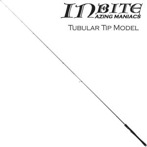 IB73-TB TICT INBAITE キャロモデル アジングロッド 7.3ft チューブラー 2ピース ティクト INBAITE(インバイト) チタンフレーム Sicリング