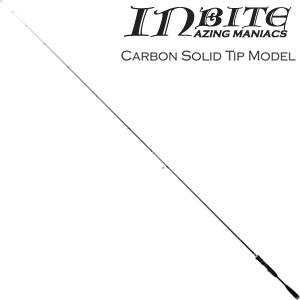 IB73-CS TICT INBAITE キャロモデル アジングロッド 7.3ft カーボンソリッド 2ピース ティクト INBAITE(インバイト) チタンフレーム Sicリング