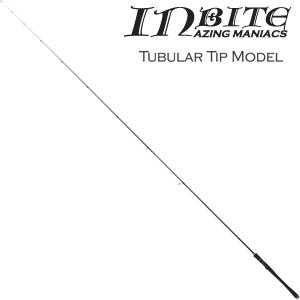 IB710-TB TICT INBAITE キャロモデル アジングロッド 7.10ft チューブラー 2ピース ティクト INBAITE(インバイト) チタンフレーム Sicリング