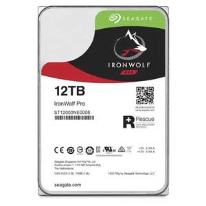 ST12000NE0008 Seagate 【バルク品】3.5インチ 内蔵ハードディスク 12.0TB IronWolf PRO(NAS向けモデル)