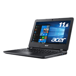 A111-31-A14P/F Acer(エイサー) 11.6型ノートパソコン Aspire 1 オブシディアンブラック (Microsoft Office Home & Business 2019)