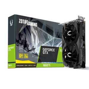 ZT-T16610F-10L ZOTAC PCI-Express 3.0 x16対応 グラフィックスボードZOTAC GAMING GeForce GTX 1660 Ti 6GB GDDR6