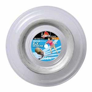 GOS-BS1502W ゴーセン バドミントン用ガット アール・フォー・エックス モモネ(ホワイト・0.66mm×240m) GOSEN MULTILADE series R4X MOMONE
