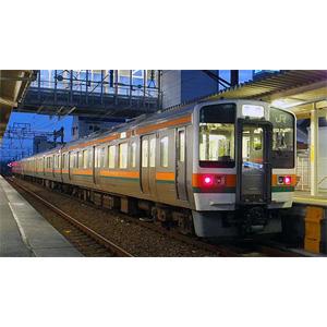 [鉄道模型]グリーンマックス 【再生産】(Nゲージ) 30887 JR211系5600番台(SS編成)基本3両編成セット(動力付き)