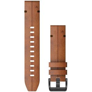 010-12863-15 ガーミン ベルト交換キット fenix 6用(Chestnut Leather) GARMIN QuickFit F6 22mm [0101286315]【返品種別B】