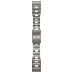 010-12864-18 ガーミン ベルト交換キット fenix 6X用(Titanium) GARMIN QuickFit F6 26mm [0101286418]【返品種別B】