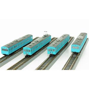 [鉄道模型]六半 (Z) T022-12 国鉄103系 スカイブルー 低運転台タイプ 4両基本セット