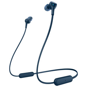 WI-XB400-L ソニー Bluetooth対応ダイナミック密閉型カナルイヤホン(ブルー) SONY